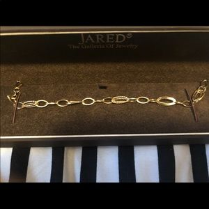 Jared gold link bracelet